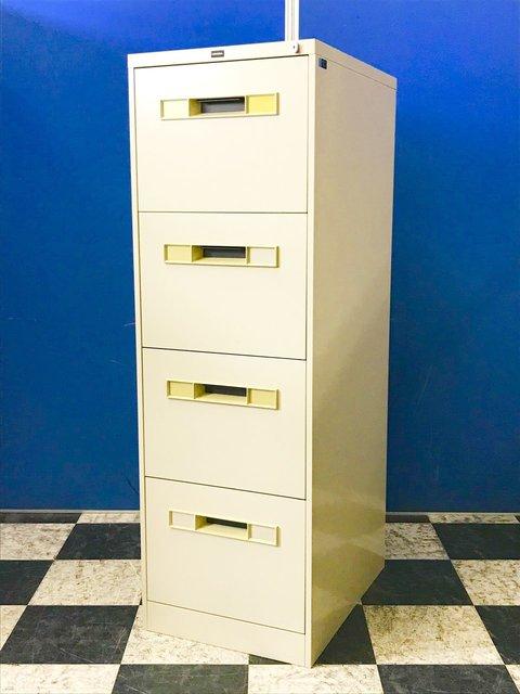 【省スペースに!!】レア商品!B4サイズのファイルを効率よく収納できるファイリングキャビネット!