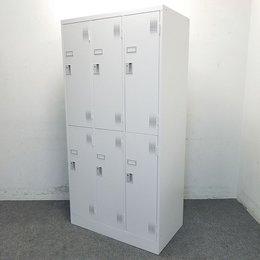 【7台入荷】豊国工業製|6人用ロッカー|人気の多人数用ロッカー入荷致しました!増員の多い事務所にオススメです!中古家具 リサイクル