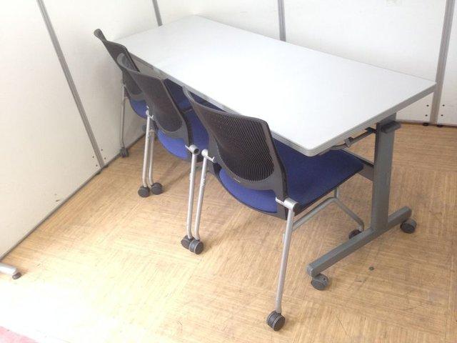 【1セット限定】チェアとミーティングテーブルのセット!!