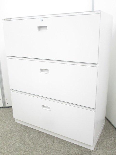 【2台入荷】引き出しタイプで書類の整理がしやすい!|3段ラテラル|イトーキ シンライン|