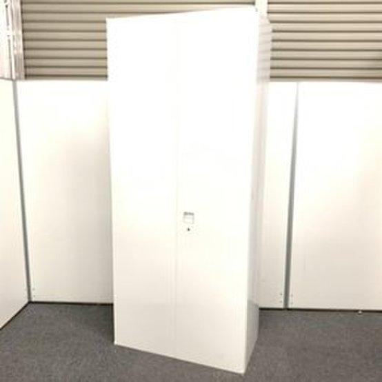【6段収納!!】大容量収納を実現したオカムラ人気単体書庫!美しいホワイトです☆【AK在庫】