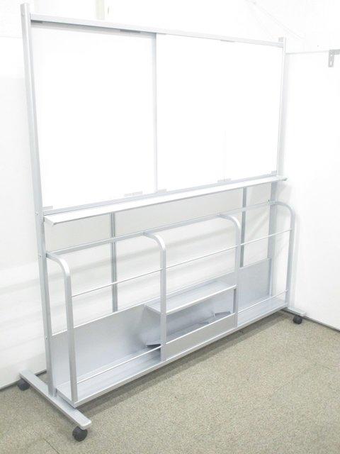 【珍しいスライドタイプ!】コクヨのホワイトボードはこれが定番【幅1800mmのホワイトボード】