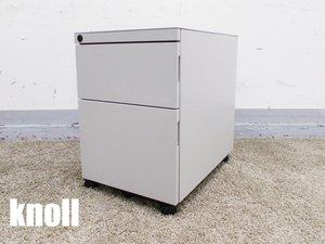 knoll/ノール Antenna デスクワゴン 2段 ライトグレー