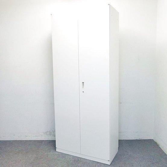 【12台入荷】イトーキ|人気のシンライン両開き書庫|幅900x高さ2150の最大6段収納まで出来るハイキャビネット|清潔感のあるホワイト☆ 中古家具 リサイクル