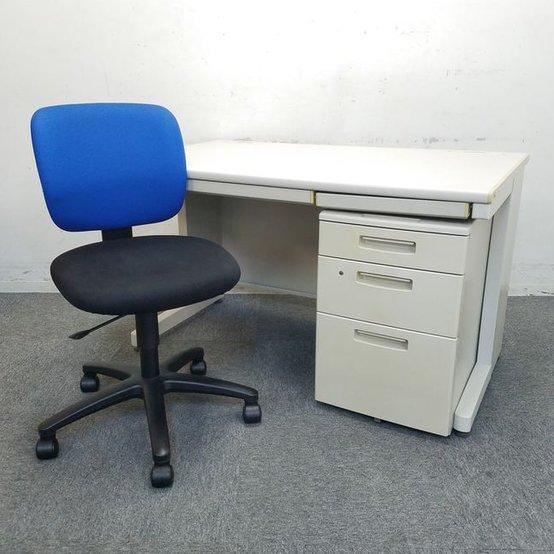 【御起業セット商品】デスク・ワゴン・チェアがセットになって更にお安くご提供☆中古 オフィス家具 キャビネット 高級チェア
