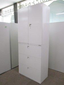 【店長おすすめ】【大人気のホワイト】A4ファイルや書類がたっぷり収納できる書庫