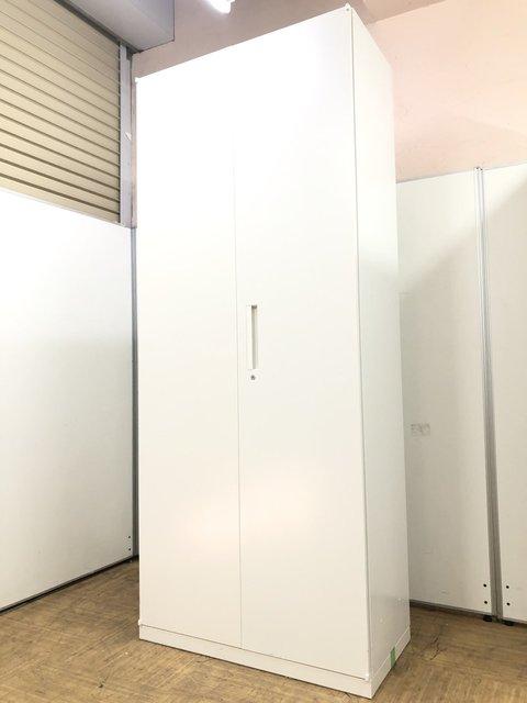 【1台のみ】【多人数向けロッカー】【人気】内田洋行 HSシリーズ H2150㎜ ワードローブ(スチール製)カラー:ホワイト