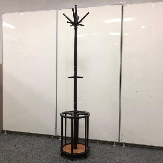 【コートハンガー】レトロ感のある木製タイプ 役員室等にどうぞ!