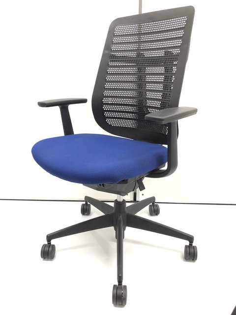 【レア商品!】コクヨ|ベルガー【座ると心地よいチェアです】hi_class【クリーニング済】
