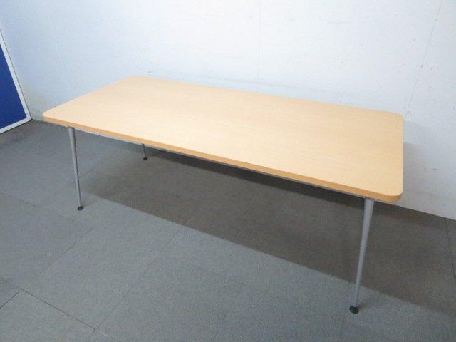 【ハイセンスなデザイン!】■コクヨ製 ミーティングテーブル(W1800mm)