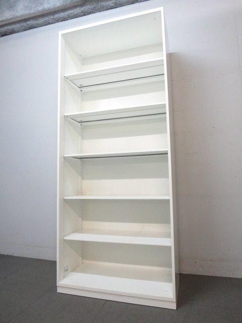 【A4が6段分収納可能!】コクヨ製!エディアシリーズ!オープン書庫!【ホワイト!】