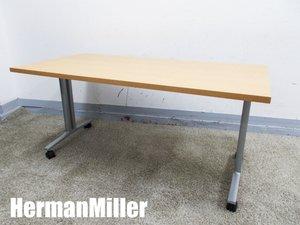 HermanMiller/ハーマンミラー Everywhere ミーティング/フォールディングテーブル キャスター付き