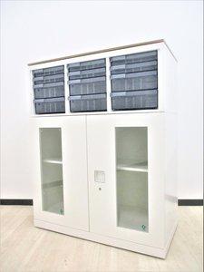 【超希少品が4台入荷!】ガラス両開き、クリスタルトレイ、オシャレ天板付き、良いとこ取りです!