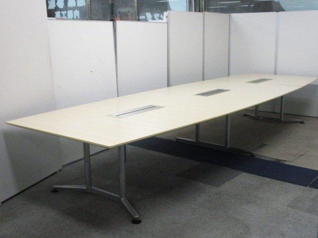【会社の信用度あげませんか】【最高級テーブル入荷】最高品質をお届けします!配線蓋3か所有り!