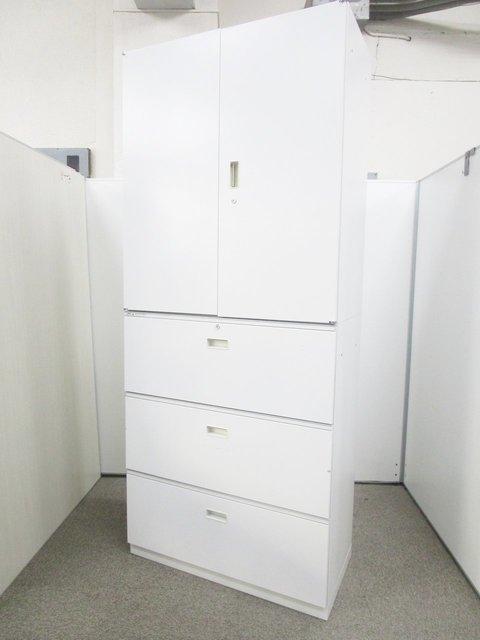 【大容量!A4サイズ6段収納可能!】定番商品の書庫セットが入荷です!【両開き+3段ラテラル】