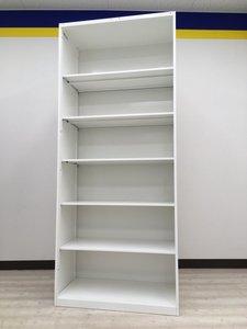 【一度にすべて確認出来ます!】扉の開閉が無いので便利です!■人気のホワイト!