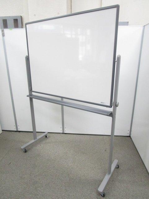 【お問い合わせの多い中古ホワイトボード入荷!】横幅1200mm扱いやすいサイズです!キャスター付きで移動簡単!
