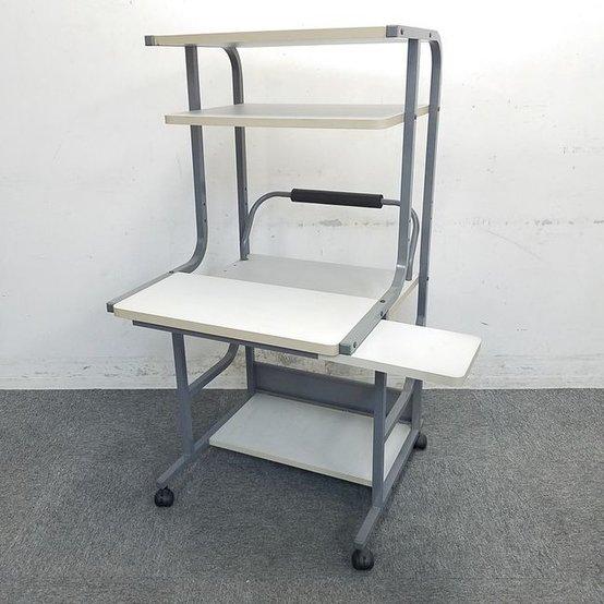 【2台入荷】パソコンラック|限られたスペースを最大限活用できます!キャスターつきで移動もらくらく☆ 中古家具 リサイクル