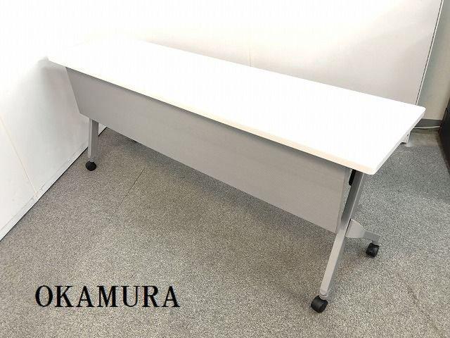 【横幅1800mmでホワイトカラーの人気サイドスタックテーブルの入荷です!!】