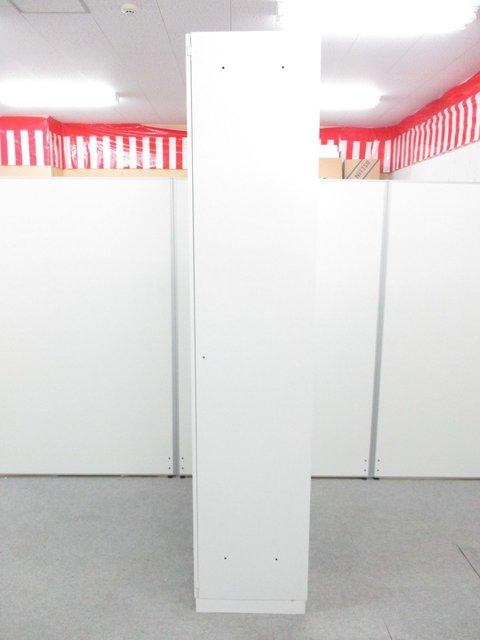 【収容物を一気見!】ホワイトカラーでオフィスの雰囲気も明るくなります!                         エディア                                      中古