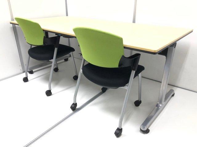 【4名で使えるセット!】幅広1800mmのテーブル+チェアセット!
