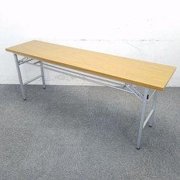 【24台入荷】コスパで選ぶならコレ☆脚が畳めますので非常に省スペースです☆中古 テーブル