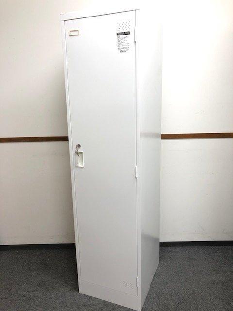 【レア商品】ホワイト且つ良品の1人用ロッカー!!鍵付き!!【コクヨ製LKシリーズ】