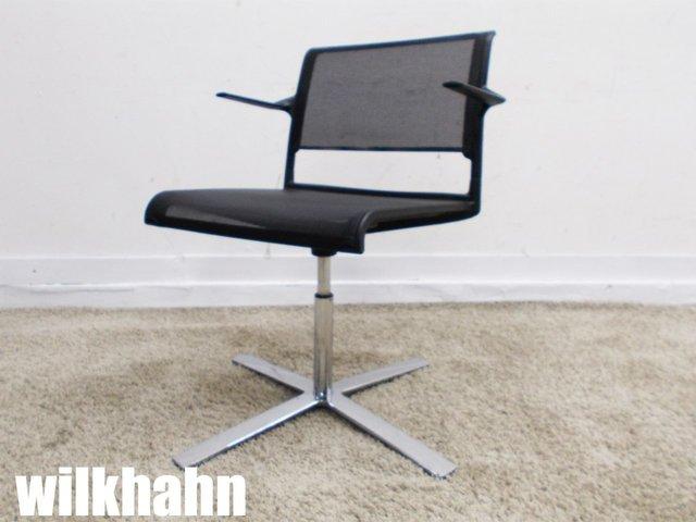 wilkhahn/ウィルクハーン Aライン ラウンジチェア ブラック