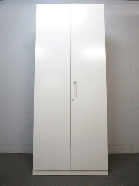 【大量収納におすすめ!】■コクヨ製 両開き書庫 ■エディアシリーズ ホワイト                         エディア                                      中古