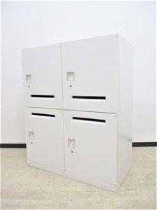 【定価10万超え!】 これ1台で4人用の収納スペースを確保できます! フリーアドレスデスクとの相性ぴったり!