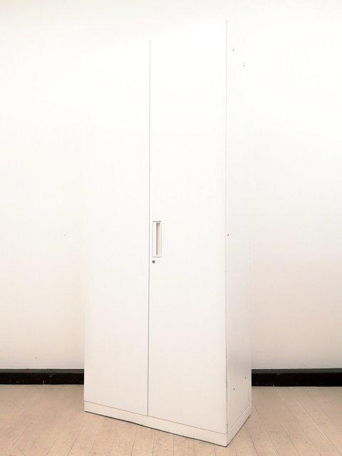 【オフィスに必須!まるで白い巨塔】■コクヨ■ベース部分に傷有り■大収納ホワイト書庫