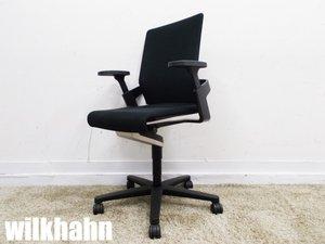 wilkhahn/ウィルクハーン ON ミドルバック ブラック キャスターチェア