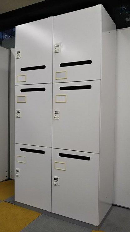 【4台まとめて買うと、非常解除キーサービス!!】私物を収納して執務室がスッキリ!