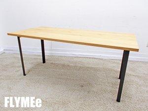 FLYMEe/フライミー ダイニングテーブル f70403 ナチュラル色 インダストリアル 新品定価15万