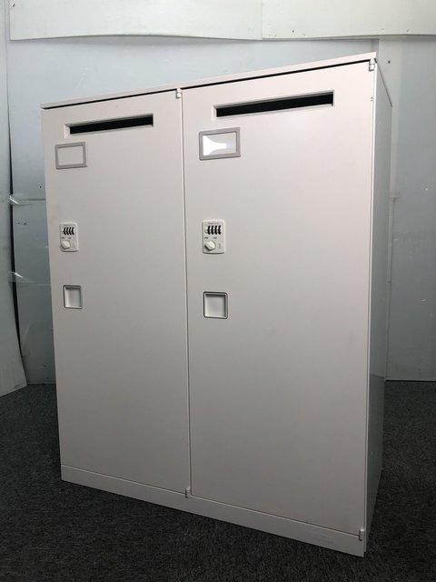 【福岡倉庫在庫】書類、パソコン、etc収納 多目的メールロッカー
