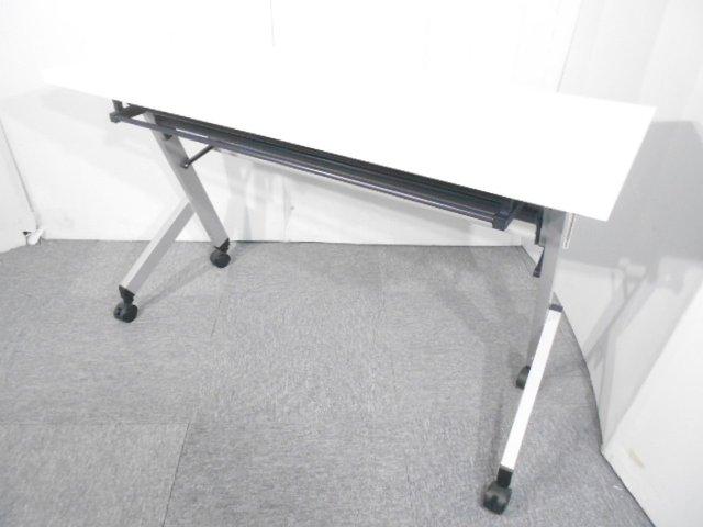 【ロット入荷!!】レア品 幅1200 ウチダ製 サイドスタックテーブル【関西倉庫在庫】