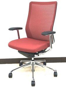 【法人購入限定特価】【10脚!】オフィスに調和がテーマ。洗練メッシュで快適着座。ミッドセンチュリー調のコンセプトにも合いそうです。オカムラ コーラル(choral)