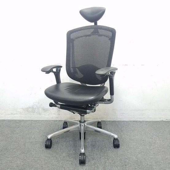 【1脚限定特価!】ハイクラス高級チェアでオフィスに至福のひと時を,,,中古 エグゼクティブチェア オフィス家具