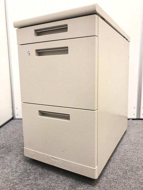 【1台】3段脇机|コクヨ(kokuyo)製|MXシリーズ|H700mm|デスクとの併用で作業スペースのアップに!