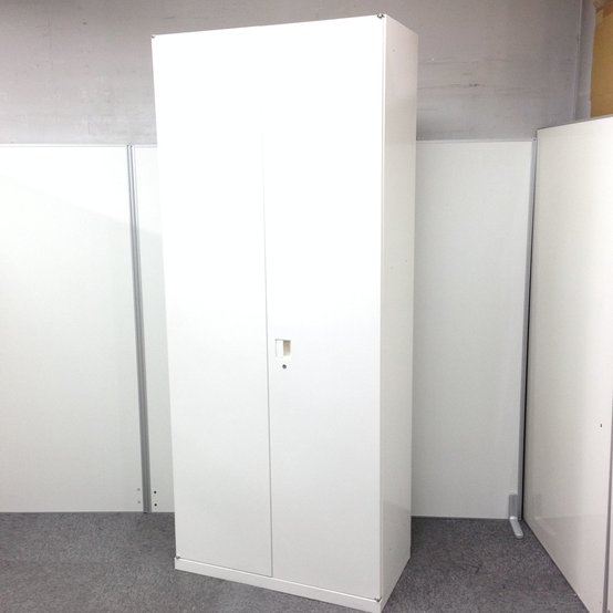 【オカムラ製SAデュオライン】大量収納にも便利!人気のホワイトカラー
