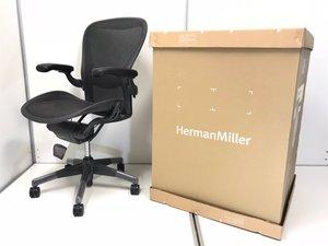 【未使用品】【2019年製】オフィスチェアの王様、ハーマンミラー製のアーロンチェア入荷! ◆Herman Miller製 ◆Aeron ◆Cタイプ