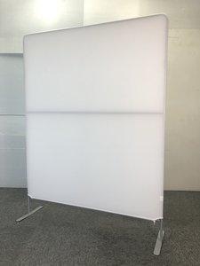 【福岡倉庫在庫】レア品 布パーテーション ホワイト