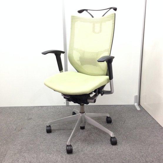 【オカムラ製 高級チェア バロン!】洗練されたデザインと多彩なバリエーションであらゆるオフィスに調和。使用感ありの為、特別価格!!