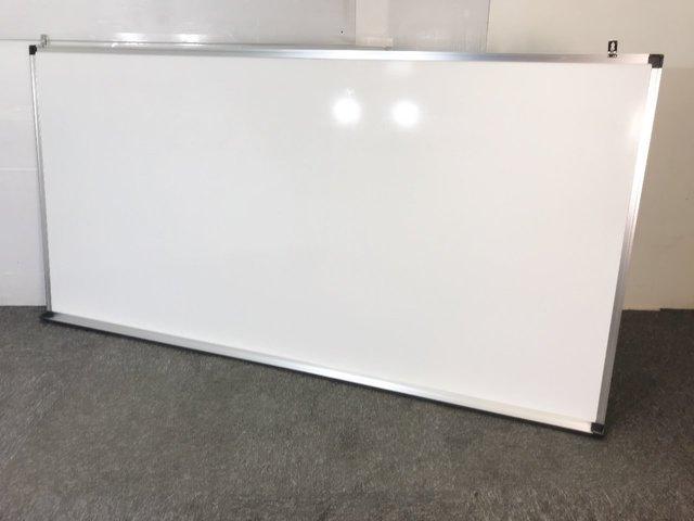 【福岡倉庫在庫】1800×900サイズ 壁掛けホワイトボード ≪壁掛け金具付き≫