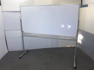 ◆限定1台◆~両面無地脚付きホワイトボード~両面無地ですので自由に使い分けが出来ます!