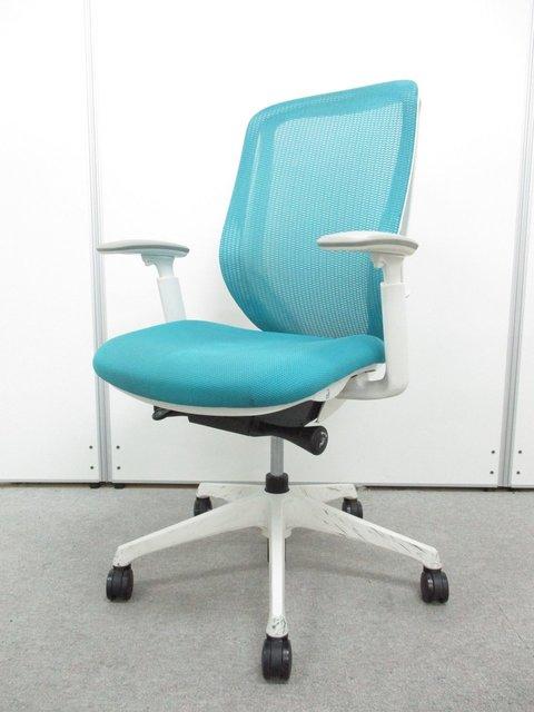 【クリーニング済み】シルフィーチェア(Sylphy)■背のカーブを変えられる、新感覚のオフィスシーティング!