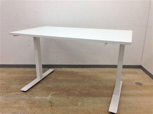 【立って仕事が可能な昇降デスク】IKEA製 ハンドルで楽々昇降可能