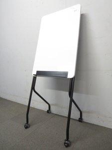 【思い立ったらどこでもミーティング!】■キャスター付ホワイトボード W900mmタイプ!