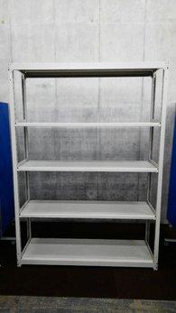 W1500の中古ラックが6台入荷しました!! 天地5段 耐荷重:段/150kg ボルトレスなので組立も簡単!  ※マテハン本舗の中古商品は、千葉県柏市に在庫がございます。