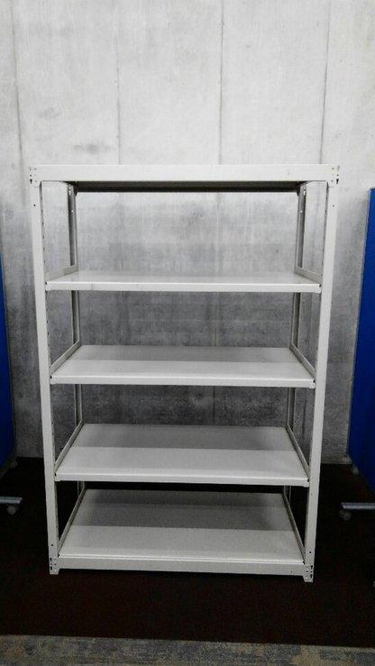 D600の中古ラックが8台入荷しました!② 天地5段 耐荷重:段/150kg ボルトレスなので組立も簡単! ※マテハン本舗の中古商品は、千葉県柏市に在庫がございます。